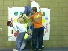 Favorite Youth Group Games: Vertical Twister - Life In Student Ministry
