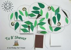Tu B'Shevat tree craft