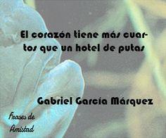 Frases de corazon de Gabriel García Márquez