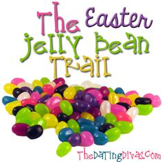 Start a fun new tradition with your family this Easter and leave a jelly bean trail! www.TheDatingDivas.com #easter #traditions #familyfun