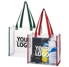 bbc97c6c886 31 Best Crystal Clear Bags with Imprinted Logo images in 2017 ...