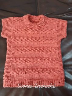 Baby Vest, Knitting Projects, Couture, Baby Knitting, Smocking, Baby Kids, Knit Crochet, Lily, Children