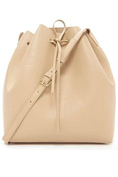 Forever 21 Faux Leather Bucket Bag, $30; forever21.com