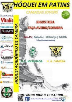 Hóquei em patins: HC Mealhada vs HA Cambra > 28 Mar 2015, 14h @ Mealhada  _Taça Aveiro/Coimbra SUB-15_  #hoqueiPatins