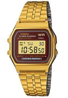 702f1ebcaa9 Casio Digital Gold Tone Stainless Steel Digital Dial Watch -  62.99 Casio  Edifice