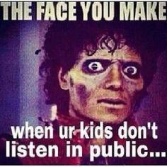 Kids Not Listening