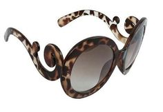 Lady Gaga Balrog Style Fashion Baroque Paparazzi Round Shape Sunglass - Leopard by Shanghai Old Street. $7.95. One size fits all. Fast shipping. Beautiful appearance. Celebrity style. UV400 protection. Be a celebrity for a day, it's just fun for a change!. Save 67%!