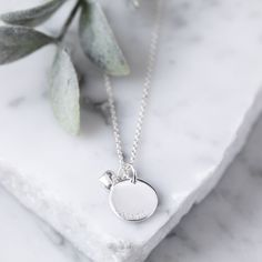 Fingerprint Jewellery Free UK Delivery Silver Fingerprint Charm and Double Bangle Hold upon Heart Personalised Gift for Her