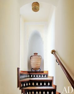 Exotic Staircase/Hallway by S.G Designs Ltd. in Essaouira, Morocco