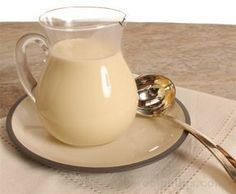 Creme Anglaise or English Cream Custard Sauce Recipe