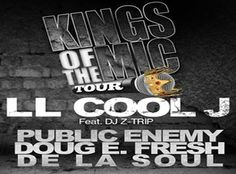 4-Packs are still available for just $66 to see LL Cool J, Public Enemy, De La Soul and more this Thursday!