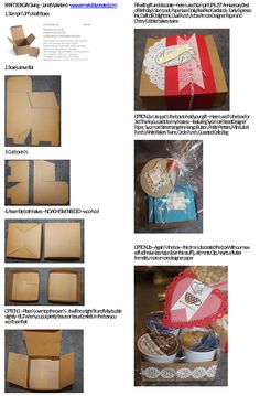 #kraft box #gift wrap #doily #box Here are ideas to use with  #Stampin' UP! kraft box