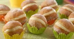 Mini-sonho - Veja ideias de docinhos para decorar e deixar sua festa mais saborosa