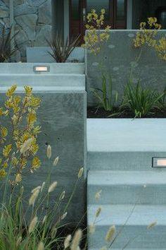 Front Yard Retreat - contemporary - landscape - san francisco - Shades Of Green Landscape Architecture #landscapearchitectureconcrete