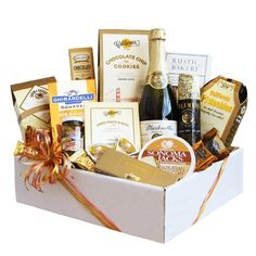 scrumptuous gourmet gift basket