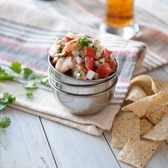 Simple ceviche recipe w/IPA! I can't wait for summer so I can start making delicious summer food like this again!