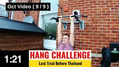 Final trial and training of the rotating bar hang challenge before I go to Thailand in just a few days for the real McCoy. Trials, Challenges, Training, Exercise, Bar, Excercise, Ejercicio, Work Outs, Exercise Workouts