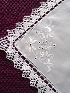 Wciąż Wracam Do Swojego Ulubionego Zajęc - Diy Crafts Crochet Boarders, Crochet Edging Patterns, Crochet Lace Edging, Crochet Doilies, Hand Crochet, Crochet Stitches, Knit Crochet, Fillet Crochet, Crochet Tablecloth
