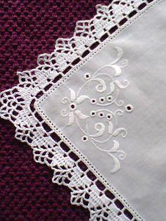 Wciąż Wracam Do Swojego Ulubionego Zajęc - Diy Crafts Crochet Boarders, Crochet Edging Patterns, Crochet Lace Edging, Crochet Doilies, Crochet Stitches, Knit Crochet, Crochet Crafts, Crochet Projects, Sewing Crafts
