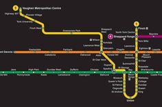 TTC map 2021