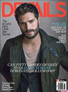 'Fifty Shades of Grey': Jamie Dornan's Sexy Spread for 'Details'