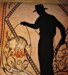 JJ Jonette Bull Brooch Pin Rare Enamel Rodeo Vintage