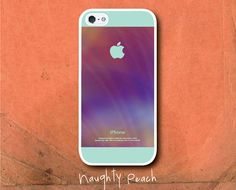 iPhone 5 Case, iPhone 5S Case - Mint fascination /  iPhone 5S Case, iPhone 5S Cover, Cover for iPhone 5S, Case for iPhone 5S