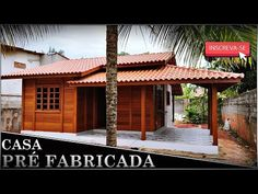 Cabin Kits For Sale, Cabana, Pergola, Farmhouse, Outdoor Structures, Outdoor Decor, Grass, Home Decor, French Houses