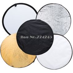 "32"" 80cm 5 in 1 New Portable Collapsible Light Round Photography/Photo Reflector for Studio #Affiliate"