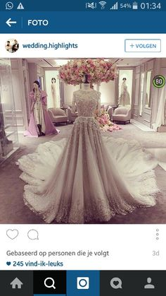 The most beautiful dress ever