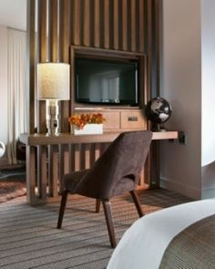 Every Junior Suite sits on a corner with wrap-around views of the city. #Jetsetter
