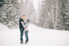 lovely winter engagement | brittany mahood photography