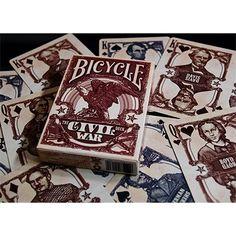 Bicycle Civil War Red (b)