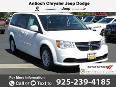2014 *Dodge*  *Grand* *Caravan* *SXT* Call for Price  miles 925-239-4185 Transmission: Automatic  #Dodge #Grand Caravan #used #cars #AntiochChryslerJeepDodgeRam #Antioch #CA #tapcars