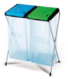 Sprawdź nasze stojaki do segregowania odpadów