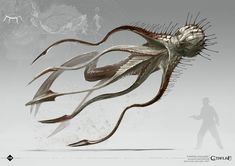 Brawl of Cthulhu: - Star Vampires & Hounds of Tindalos Art Cthulhu, Cthulhu Tattoo, Lovecraft Cthulhu, Call Of Cthulhu, Hp Lovecraft, Alien Creatures, Magical Creatures, Fantasy Creatures, Monster Concept Art