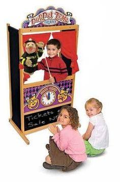 Melissa & Doug Deluxe Puppet Theater 2530