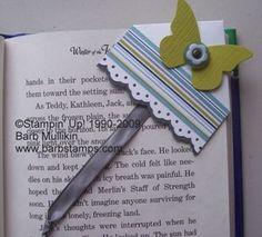how to - corner bookmark - unique!!