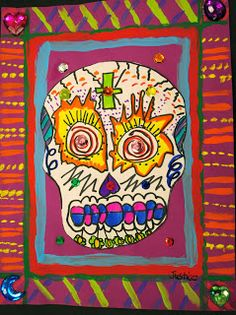 We have been studying about Dia de los Muertos-Day of the Dead.  The students just absolutely love this unit! We have been making all the ...