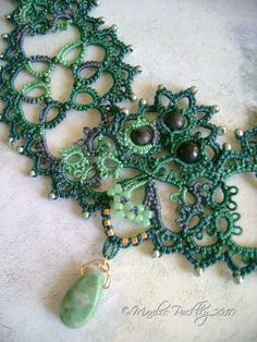 Yarnplayer's Tatting Blog. My mum taught me to tatt, but I had no idea it could be this pretty! Might have to dig out the shuttle...