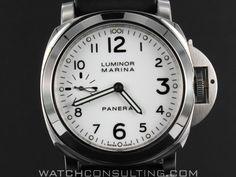 Vente et location de montres de luxe d'occasion - PANERAI PAM 113