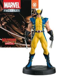 Magazine Eaglemoss Marvel Fact Files SPECIAL Magnéto X = Hommes figurine