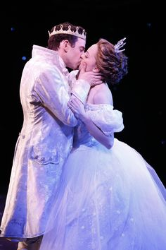 #Cinderella with Laura Osnes and Santino Fontana as the Prince - Broadway #musical by Rodgers  Hammerstein