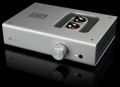 Schiit Audio Lyr. Hybrid Tube/Solid State headphone amplifier. And yes there name is Schiit. ($449)