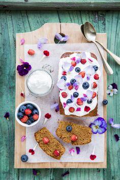 cake con latte di mandorle e cocco  ©Silvia Censi