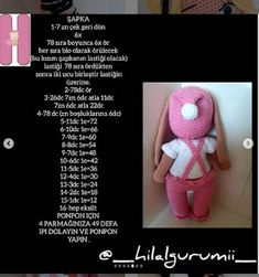 PONCİK TAVŞAN TARİFİ Origami, Teddy Bear, Animals, Baby Dolls, Lol Dolls, Animales, Animaux, Origami Paper, Teddy Bears