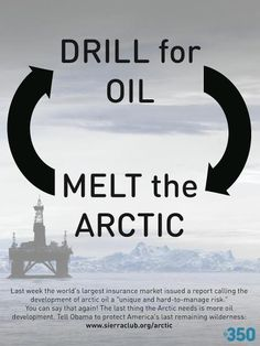 """""""Drill for oil. Melt the Arctic"""".  The hamster wheel of poor energy decisions."""