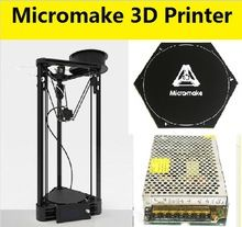 [Visit to Buy] Newest Micromake Printer Pulley Version DIY Kit Kossel Delta Auto Leveling Large Printing Size Metal Printer Impression 3d, 3d Printer Kit, Mens Toys, Toys Online, Pulley, Tech Gadgets, Diy Kits, Cool Things To Buy, Free