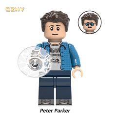 Peter Parker (Far From Home) Lego Dc, Lego Marvel, Best Lego Sets, Lego Models, Lego Super Heroes, Cool Lego, Popular Culture, Spiderman, Comic Books
