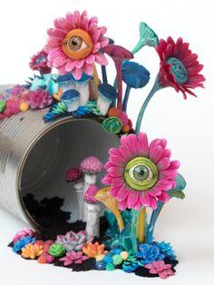 Candi(e)d Watch, Sculpture, 2017  Stéphanie Kilgast